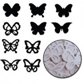 Maya Road - Chipboard Set Butterflies