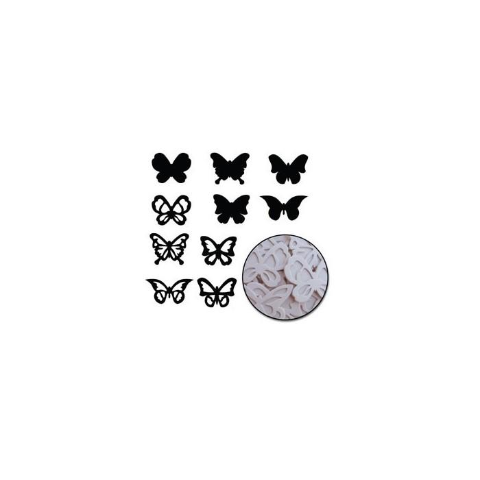Maya Road - Chipboard Set Butterflies
