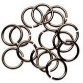 Jump rings bronze, 6mm, 6 pieces
