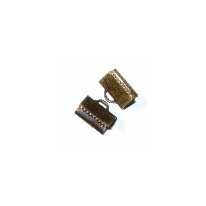 Connector for ribbon, bronze, 10x5mm, 4pcs
