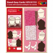 Doodley - Stand-Easy Cards Cupcakes