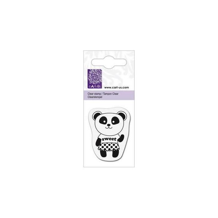 Clear stamp, Panda