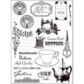 Clear stamps, Eline's Sewing