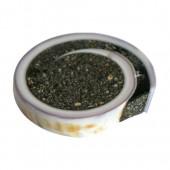 Pendentif coquillage gris, 30-55mm, 1 pce