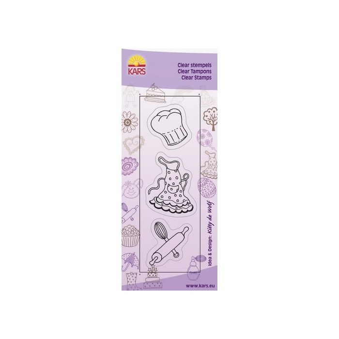 Clear stamps, Cooking