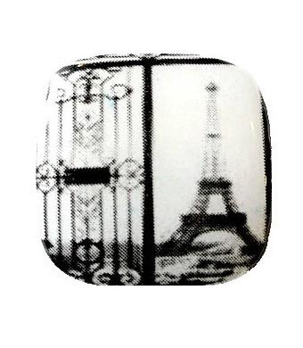 palet carr paris noir blanc 26mm 1 pce. Black Bedroom Furniture Sets. Home Design Ideas