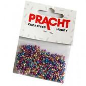 Perles mix, 17g, couleur métallisées