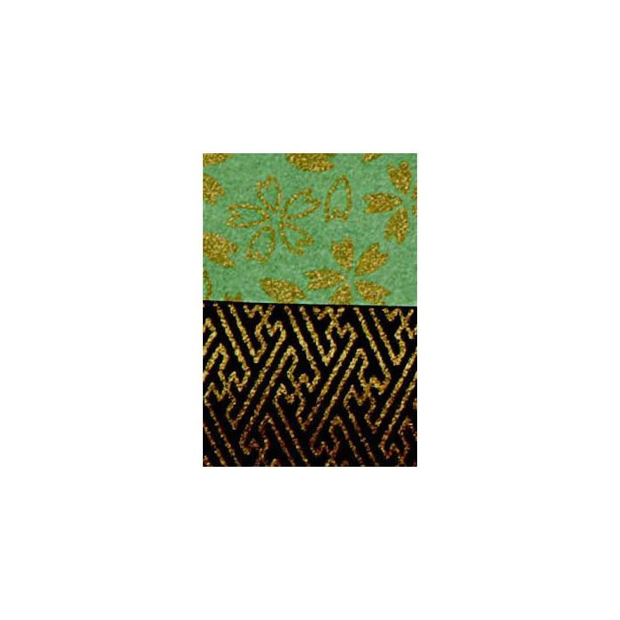 Han-Ji Origami Paper A5, 2x3 sheets, #7004