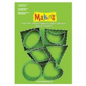 Makin's - Cutter set Crinkle