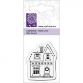 Clear stamp, house