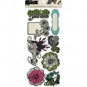 DCWV - Street Lace Pop-Up Embellishments