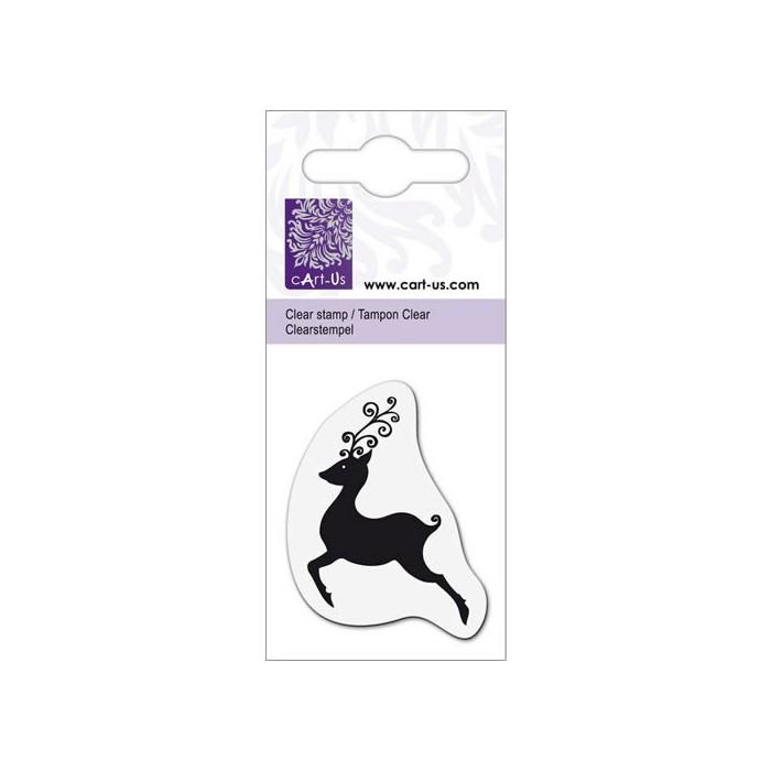 Clear stamp, Reindeer