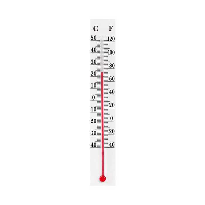 Thermometer 16cm white