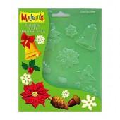 Makin's Push molds - Christmas Nature
