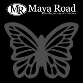 Maya Road - Mask stencil Soar Butterfly