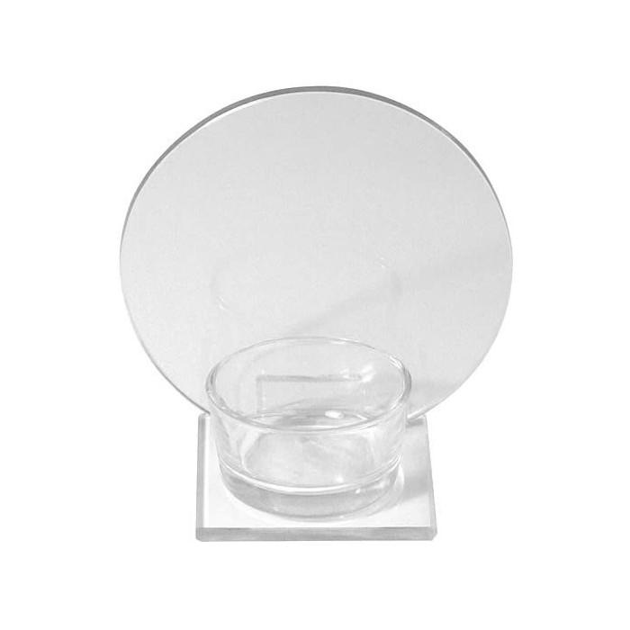 Candle jar, 10x6.5x10cm