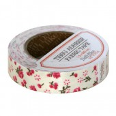 TOGA - Rouleau Tissu adhésif cerises et fleurs