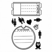 Clear stamps, Tickets