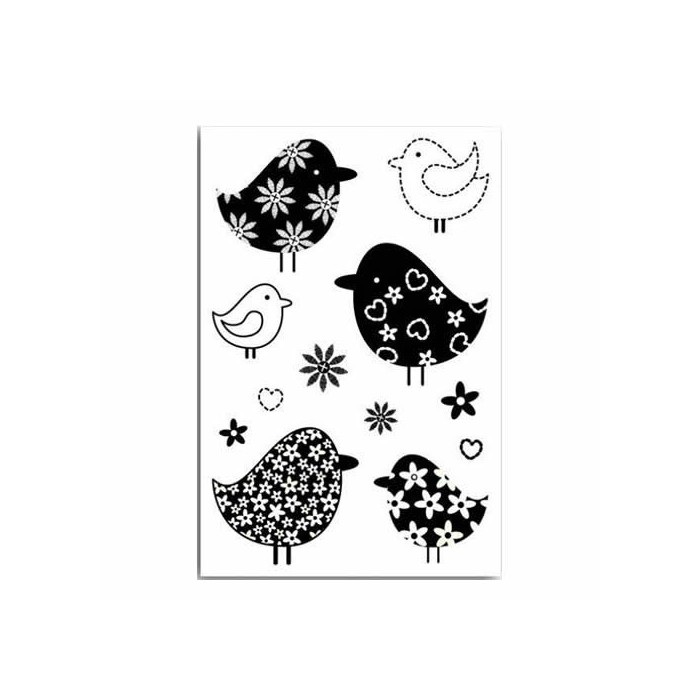 Clear stamps, Piou Piou