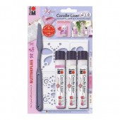 Candle-Liner, Set Butterflies