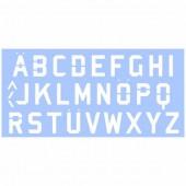 Pochoir Alphabet 15x33cm