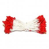 Pistils / étamines 2mm, rouge 288 têtes