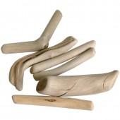 Drift wood, 6-10cm, 200g