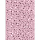 Fabric Lucy, 45x55cm, Dots pink
