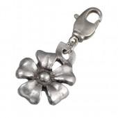 Charm pendant flower 20x16mm
