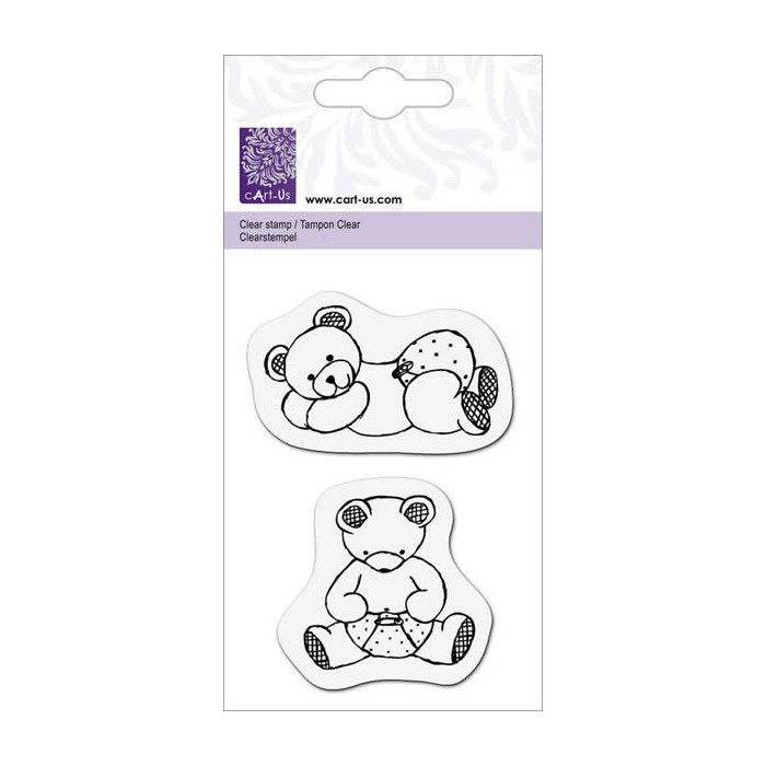 Clear stamps, Teddy Bear