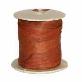 Raphia mat, brun clair, 40m