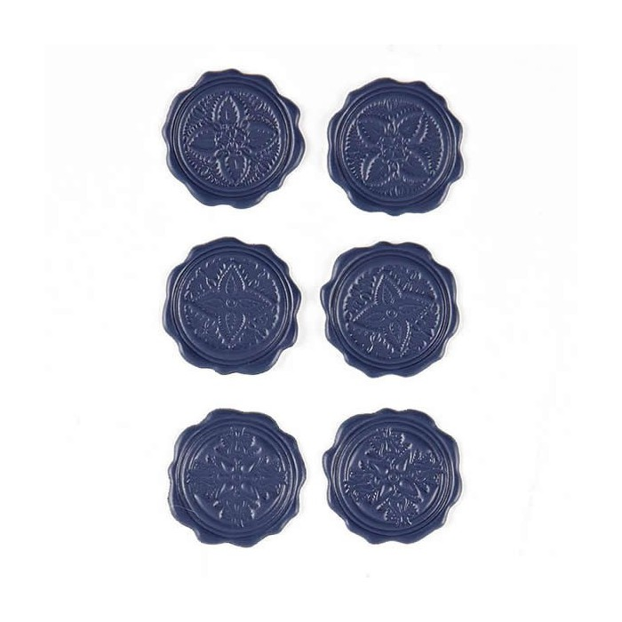 Basic Grey - Wax Seals Plumeria