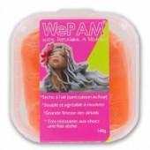 WePAM orange 145g, pâte porcelaine prête à l'emploi