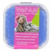 WePAM bleu royal 145g, pâte porcelaine prête à l'emploi