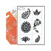 Clear stamps, Flora