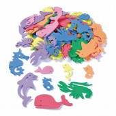 Creasoft, foam shapes sea animals