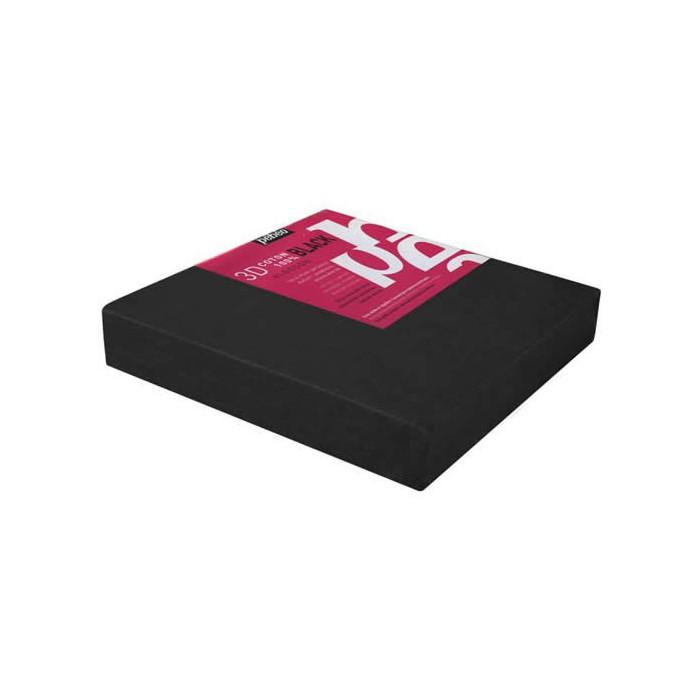 3D Canvas 20x20cm, black