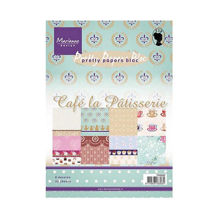 Marianne Design - Café La Pâtisserie Paper Bloc