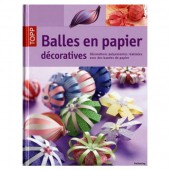 Book Balles en papier décoratives