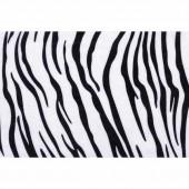 Plush 50x70cm, zebra 8mm