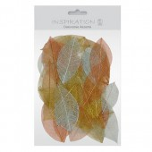 Skeleton Leaves, 50 pieces,