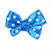 Bow tie 24x18mm, blue