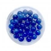 Agate bleue, 6mm, 30 pcs