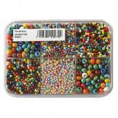 Rocailles mix, 2.6 à 4.5mm