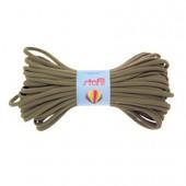 Bande élastique tubulaire, Ø5mm/1m, kaki