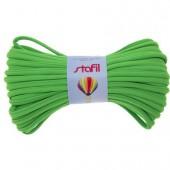 Tubular resilient strip, Ø5mm/1m, green