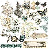 Prima - Chipboard Nature G.memories