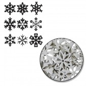 Maya Road - Snowflake Chipboard Set