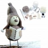 Kit créatif feutrage oiseau