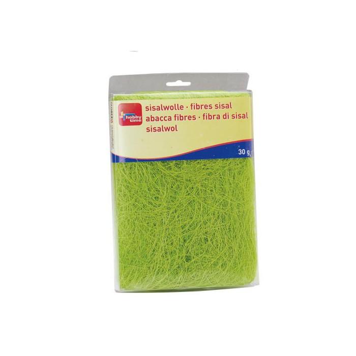 Abaca fibres, green